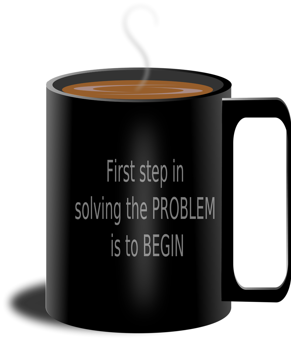 Free stock photo illustration. Cup clipart brown coffee mug