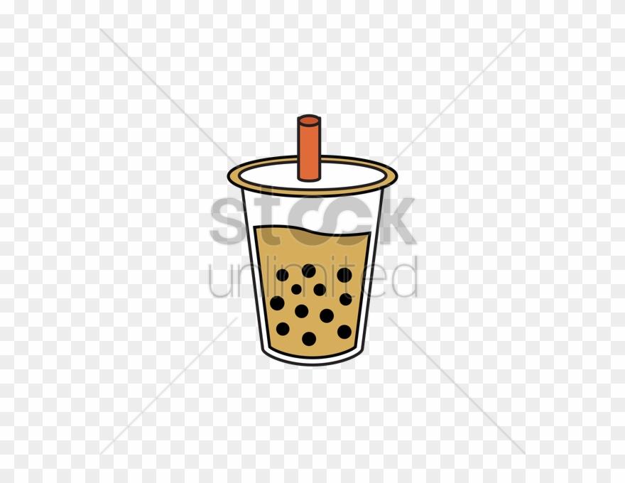 Bubble cartoon png . Clipart milk tea glass