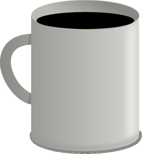 Coffee black clip art. Cup clipart vector
