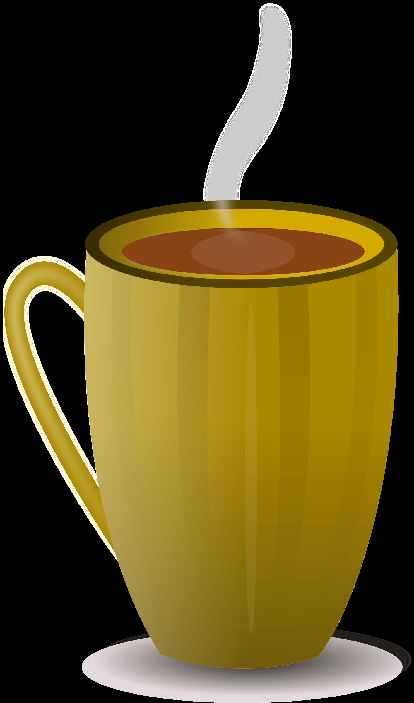 Coffee cup big image. Tea clipart bashi