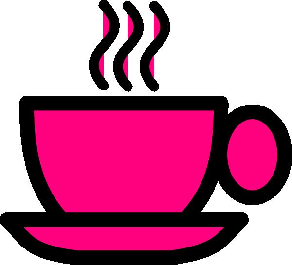 Pinktea cup clip art. Mug clipart pink mug
