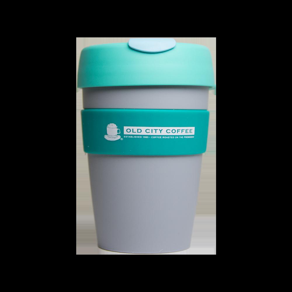 Occ keep travel mug. Cup clipart colored plastic