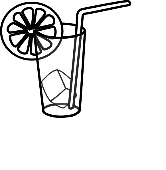 E clipart black and white. Glass of milk drawing