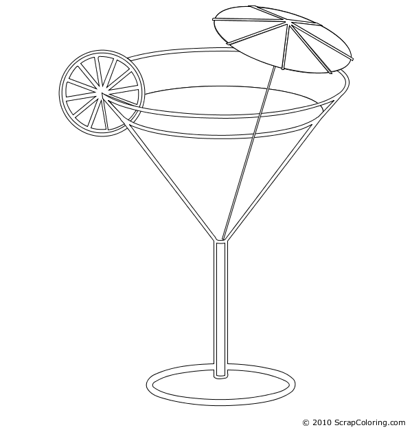 cocktail clipart fancy drink