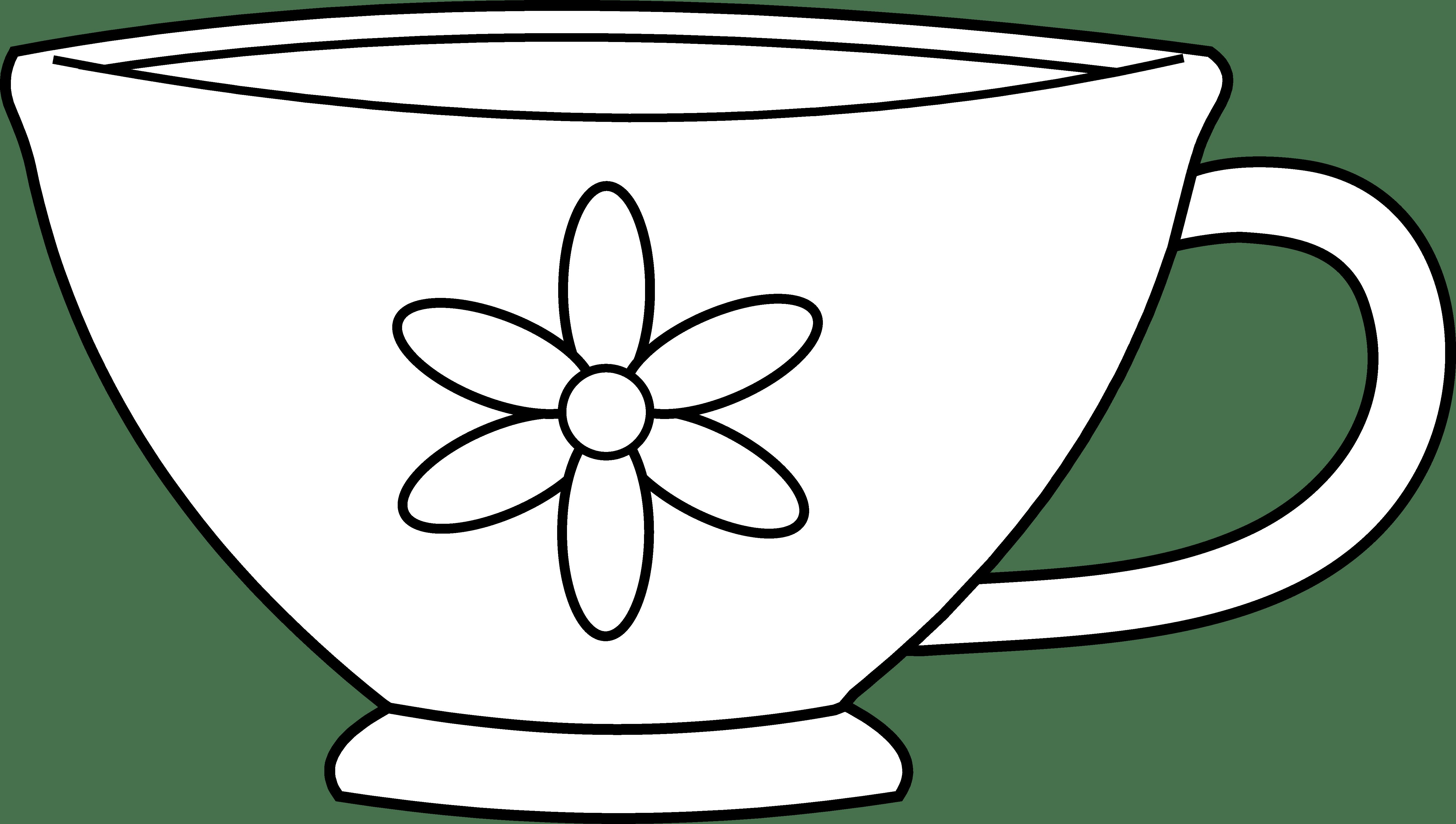 Cup clipart colouring page. Coloring democraciaejustica simple coffee