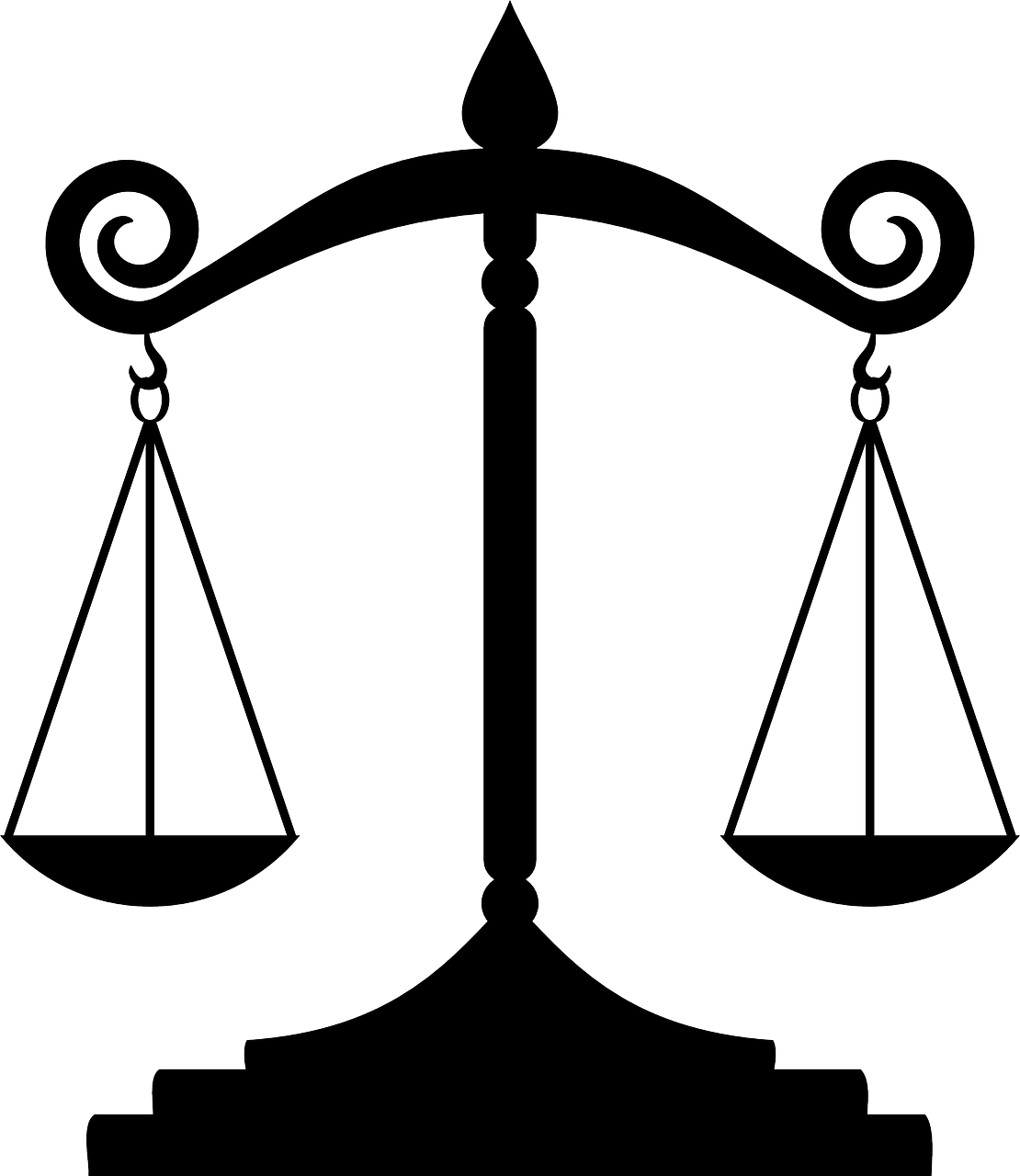 Court study graphics illustrations. Legal clipart law student