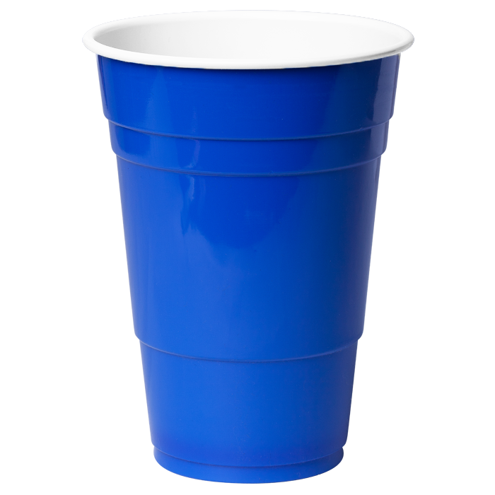 Blue cups ml x. Cup clipart plastic cup
