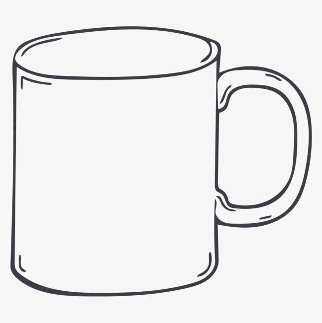 Cups clipart sketch. Cup drawing free download