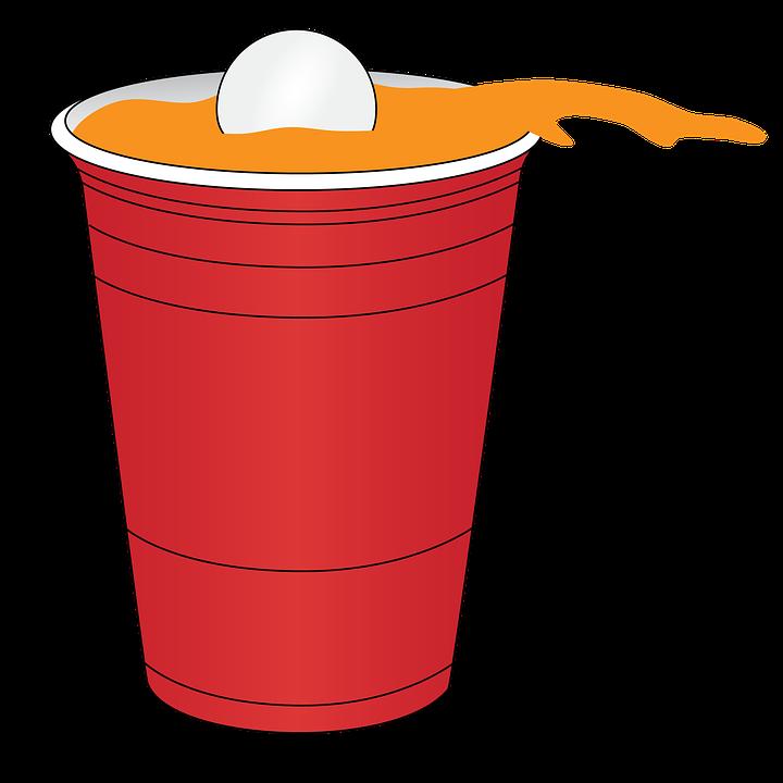 Ice clipart slush puppy. Slushie cup beer pong