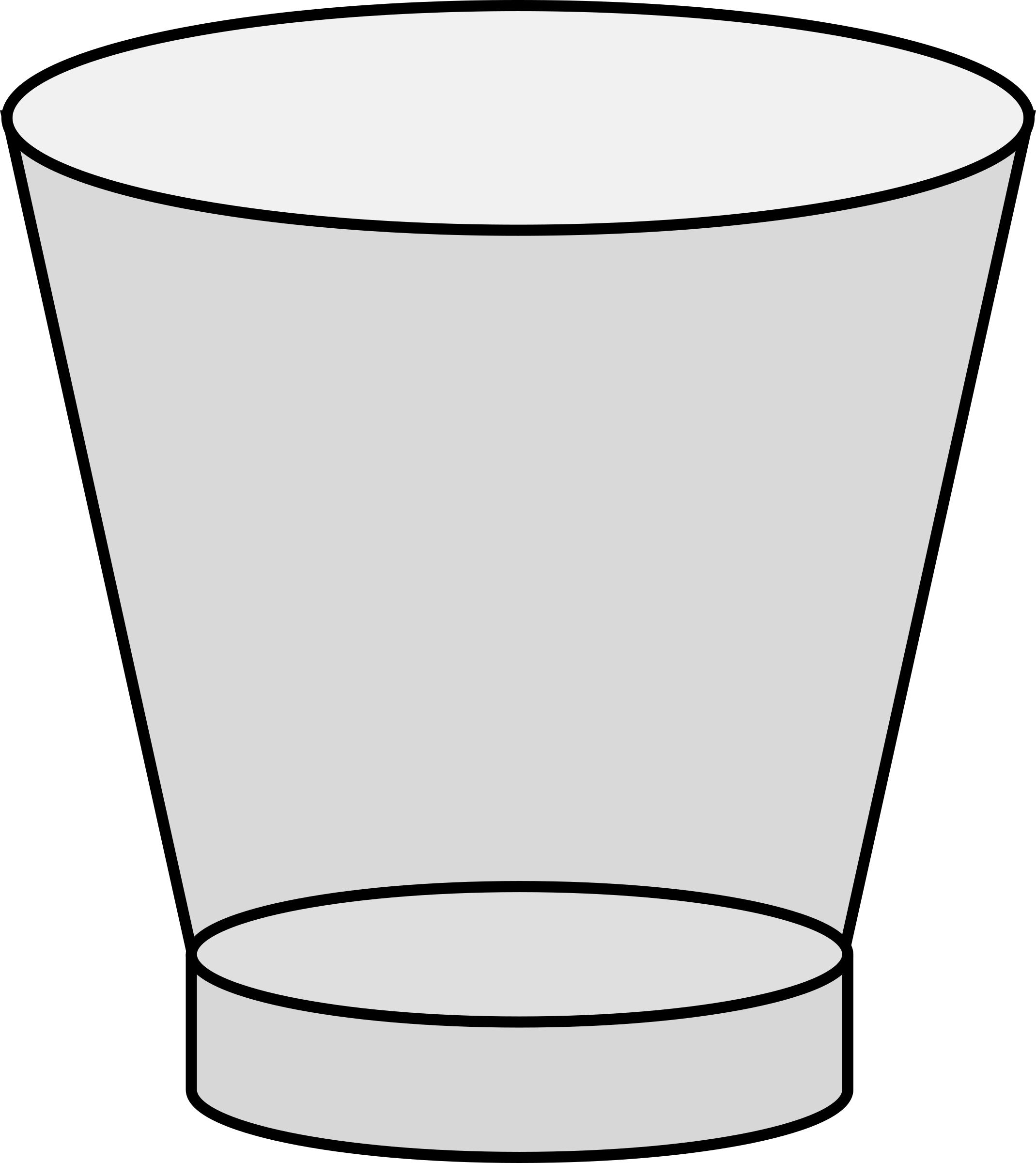 Shot glass big image. Thoughts clipart empty