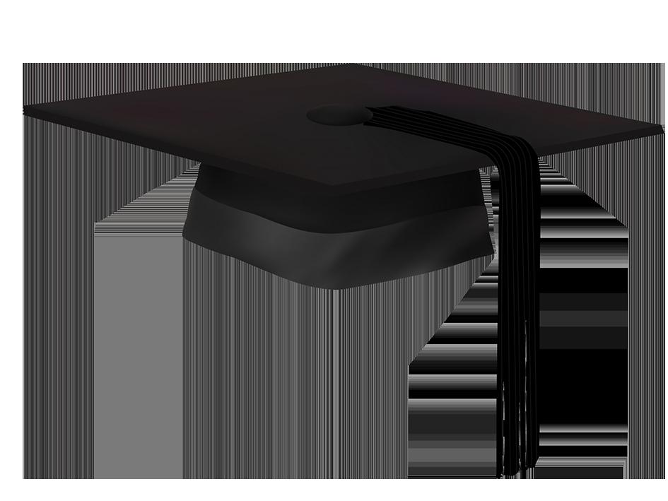 Square academic cap ceremony. Graduation clipart graduation hat