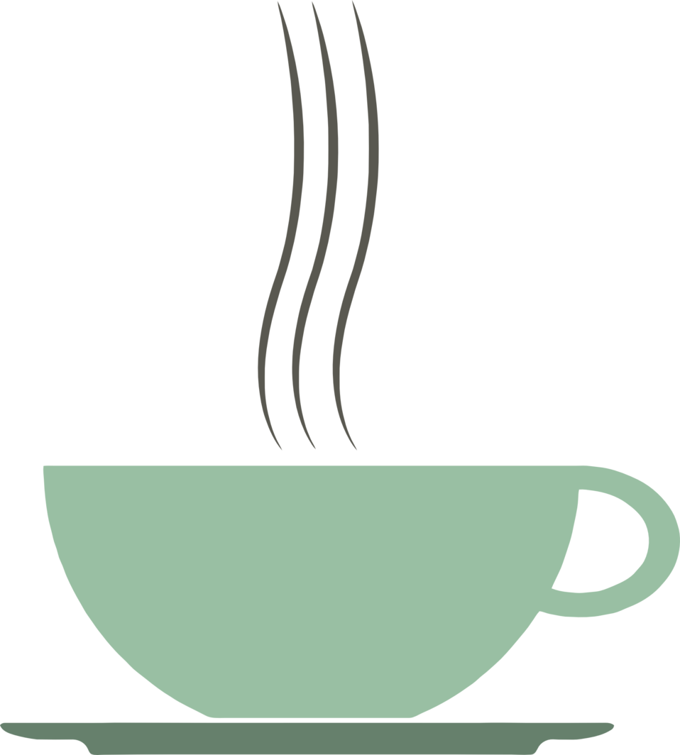 Public domain clip art. Clipart cup green coffee