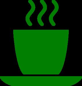Mug clip art at. Clipart cup green coffee