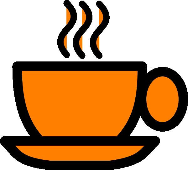 Clipart teacher coffee. Orange mug clip art