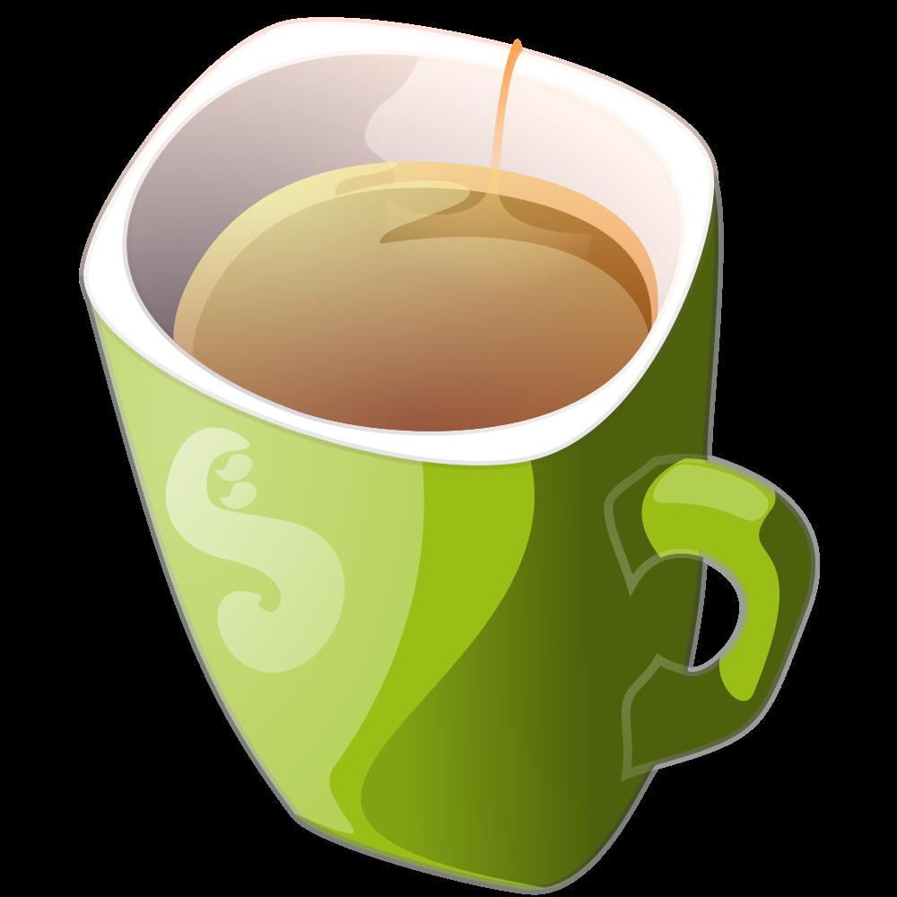 Cups green mug