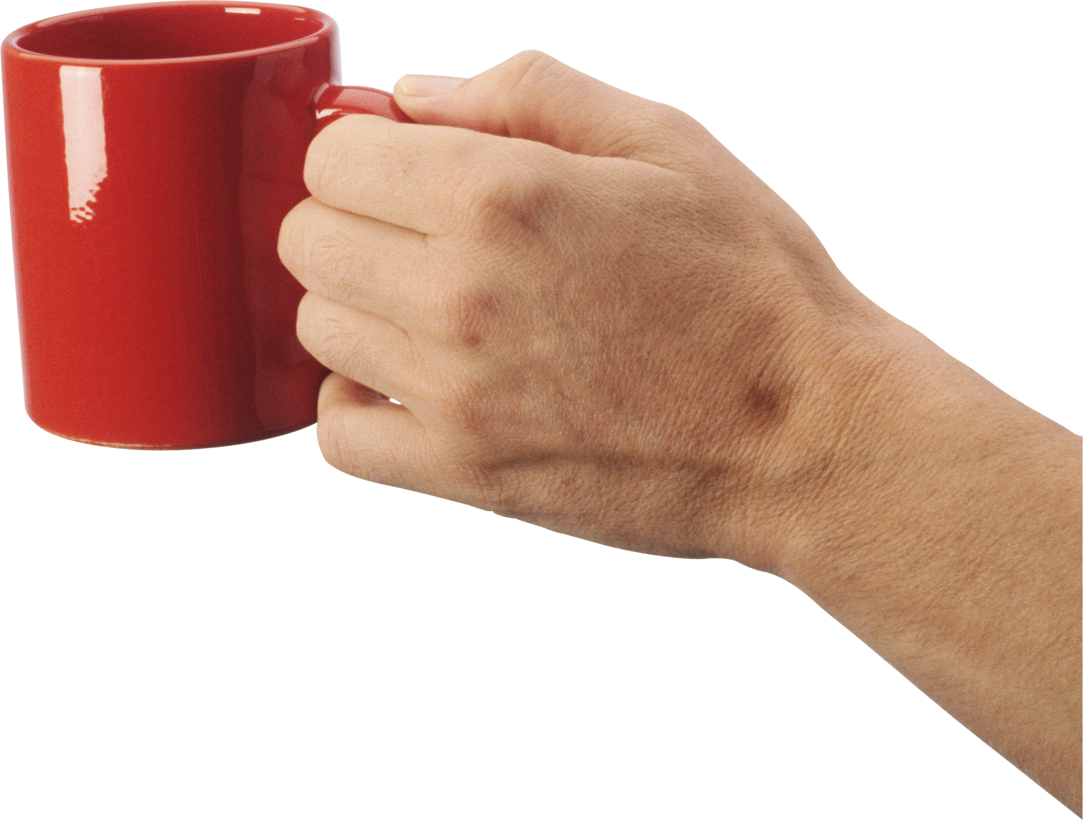 Drink clipart hand holding. Cup isolated stock photo