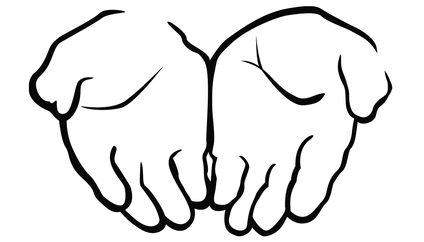 Hand clipart open. Free hands images download