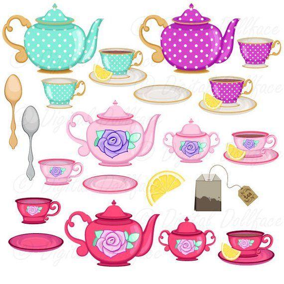 Tea cup clip art. Cups clipart teapot