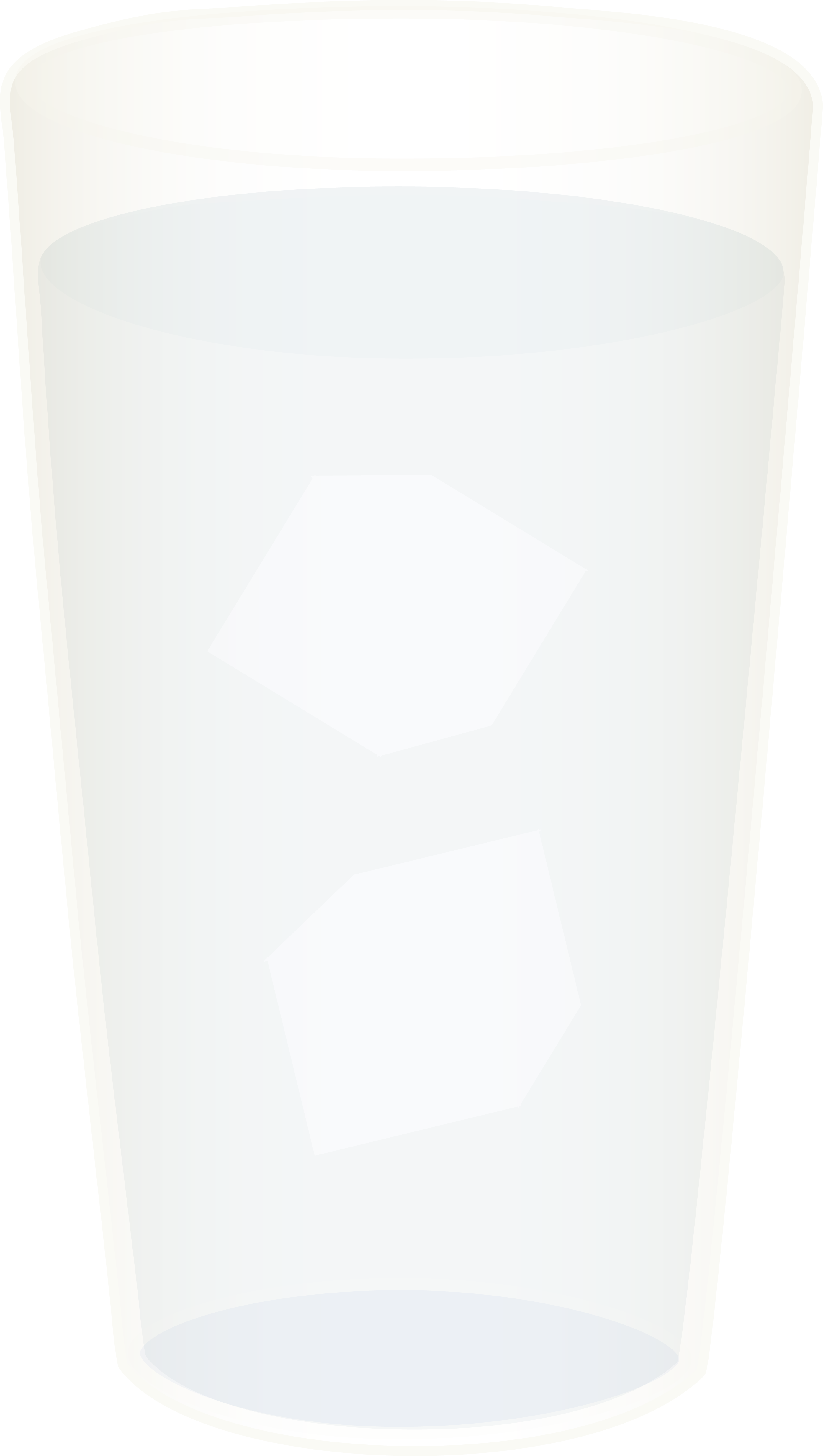 Glass of with cubes. Cup clipart ice water