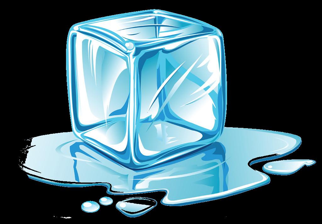 Cube clipart line art. Ice melting clip cartoon