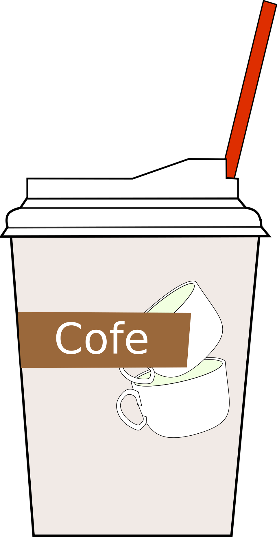 Mug clipart bucket. Coffee free stock photo