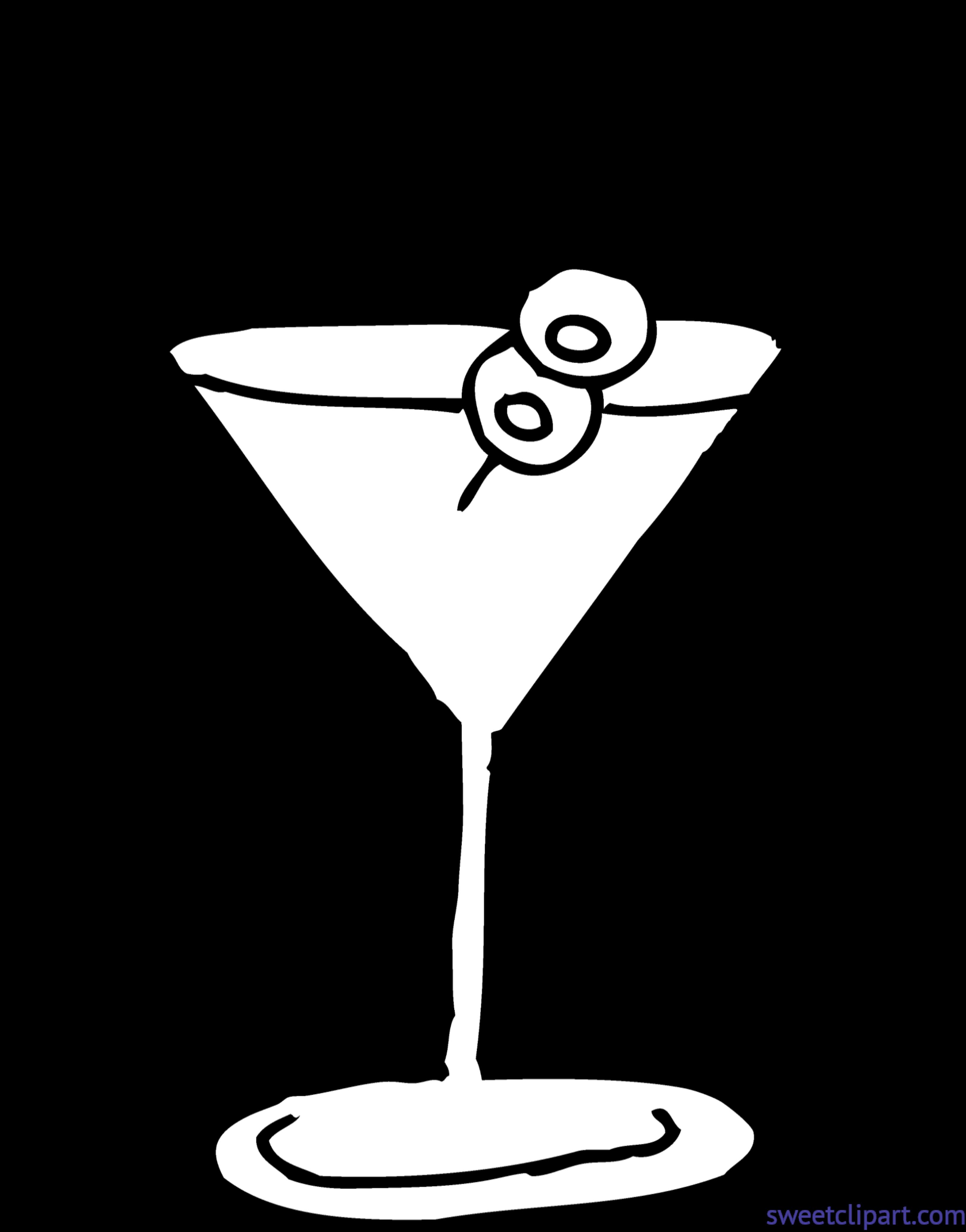 Martini drawing at getdrawings. Hair clipart glass
