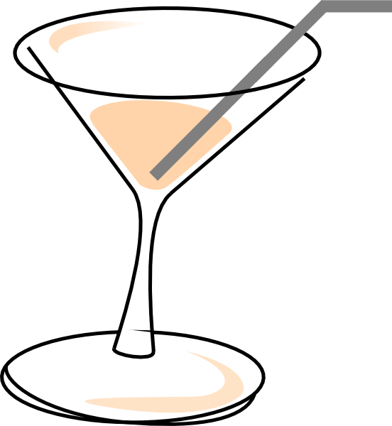 Clipart glasses cocktail. Short in a glass