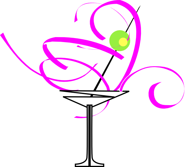 Martini glass drawing at. Clipart glasses cocktail