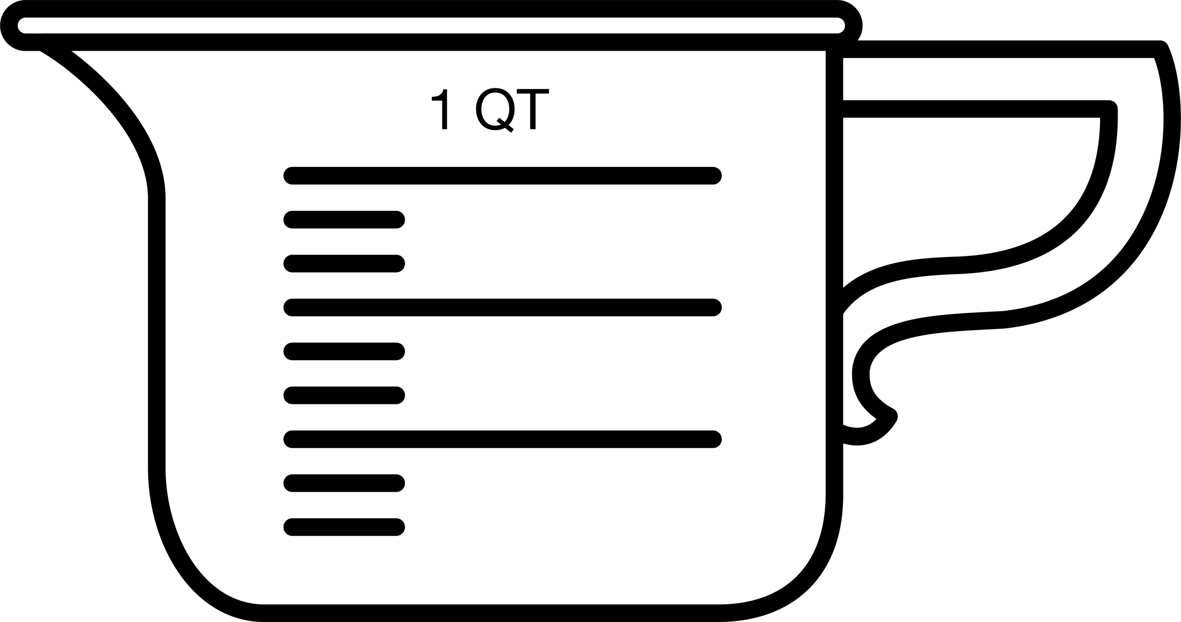 Free picture of a. Cup clipart mesuring