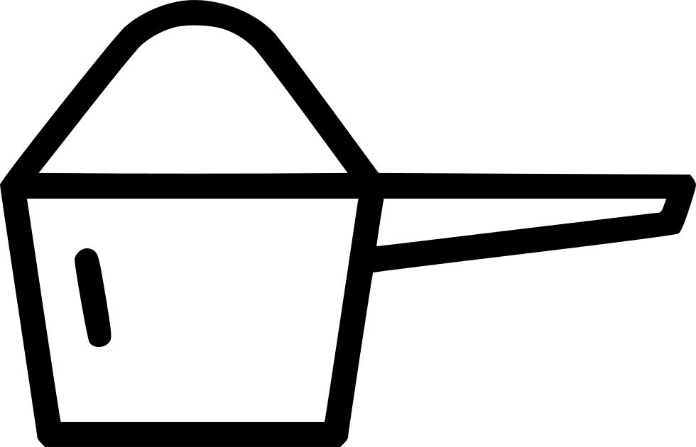 Scoop protein powder measuring. Cup clipart mesuring