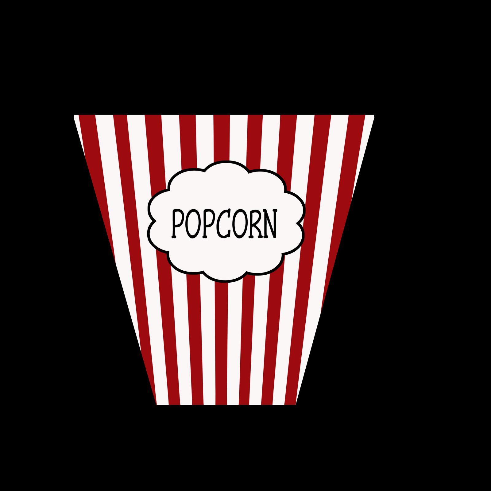 clipart free popcorn