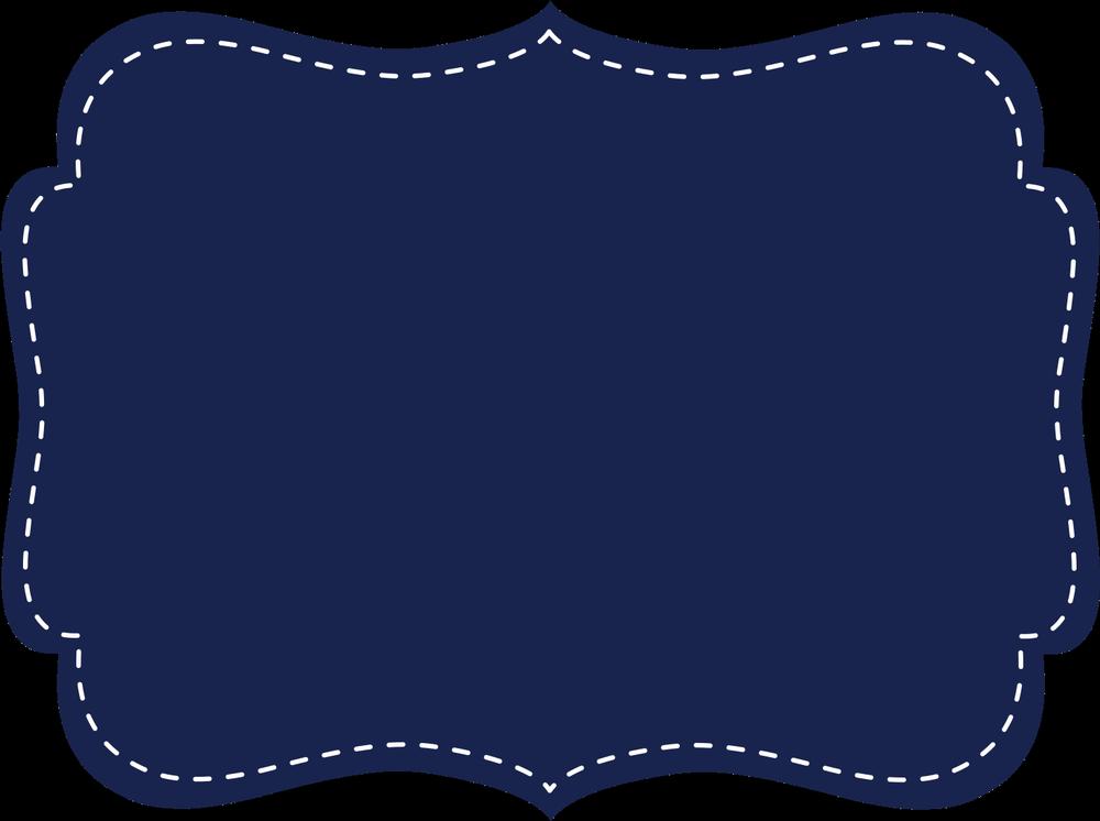 Navy clipart frame. Picture frames blue clip