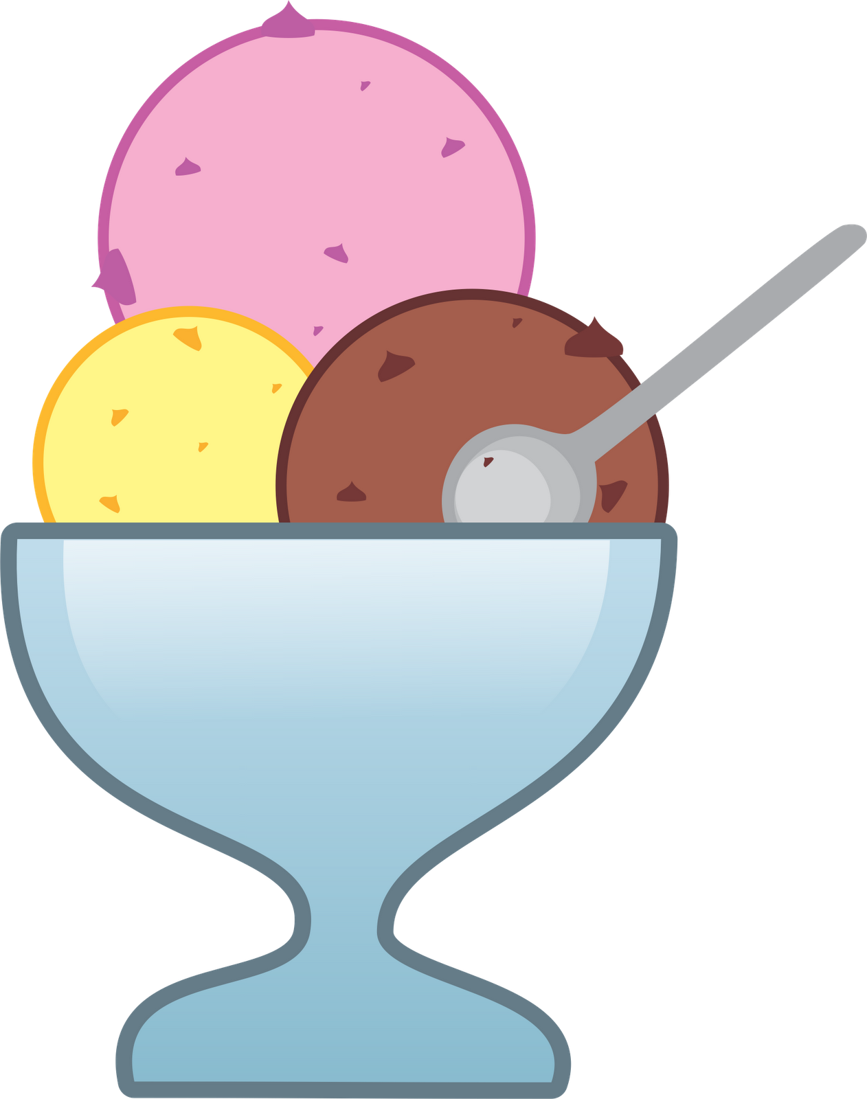 icecream clipart bowl