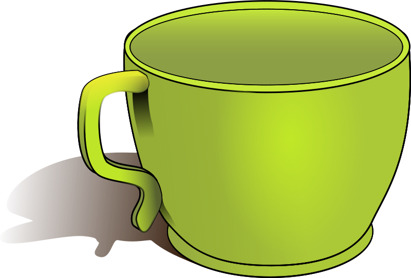 Big objects . Cups clipart object