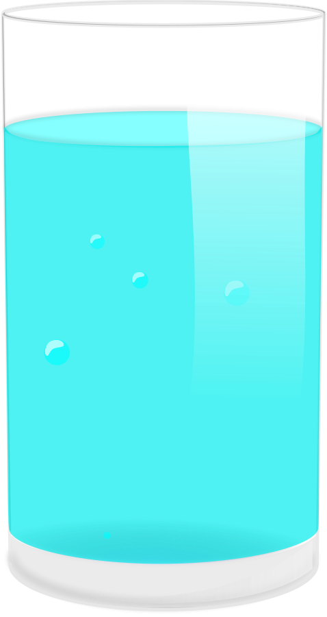 collection of cup. Water clipart vector