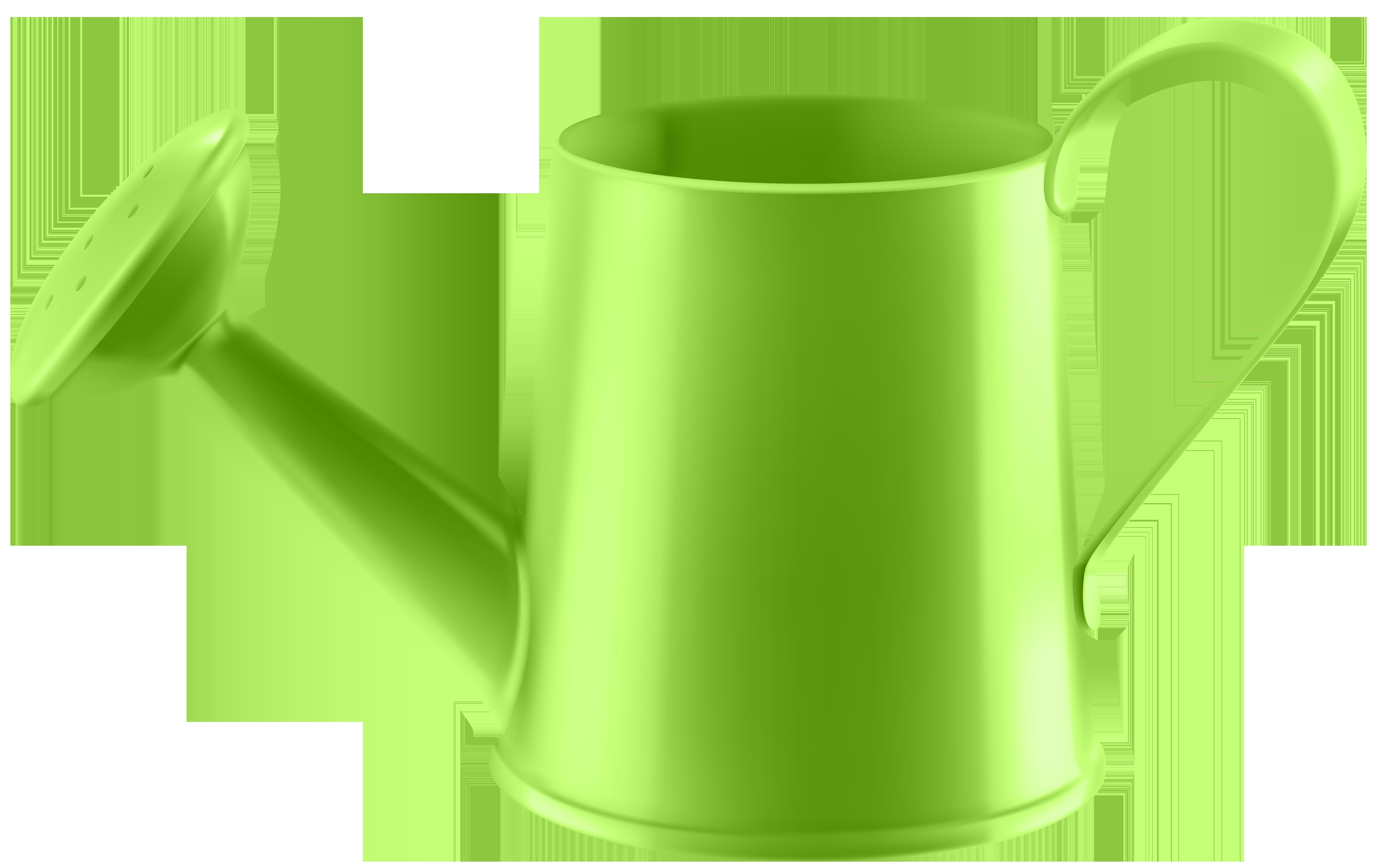 Mug clipart water. Green can transparent png