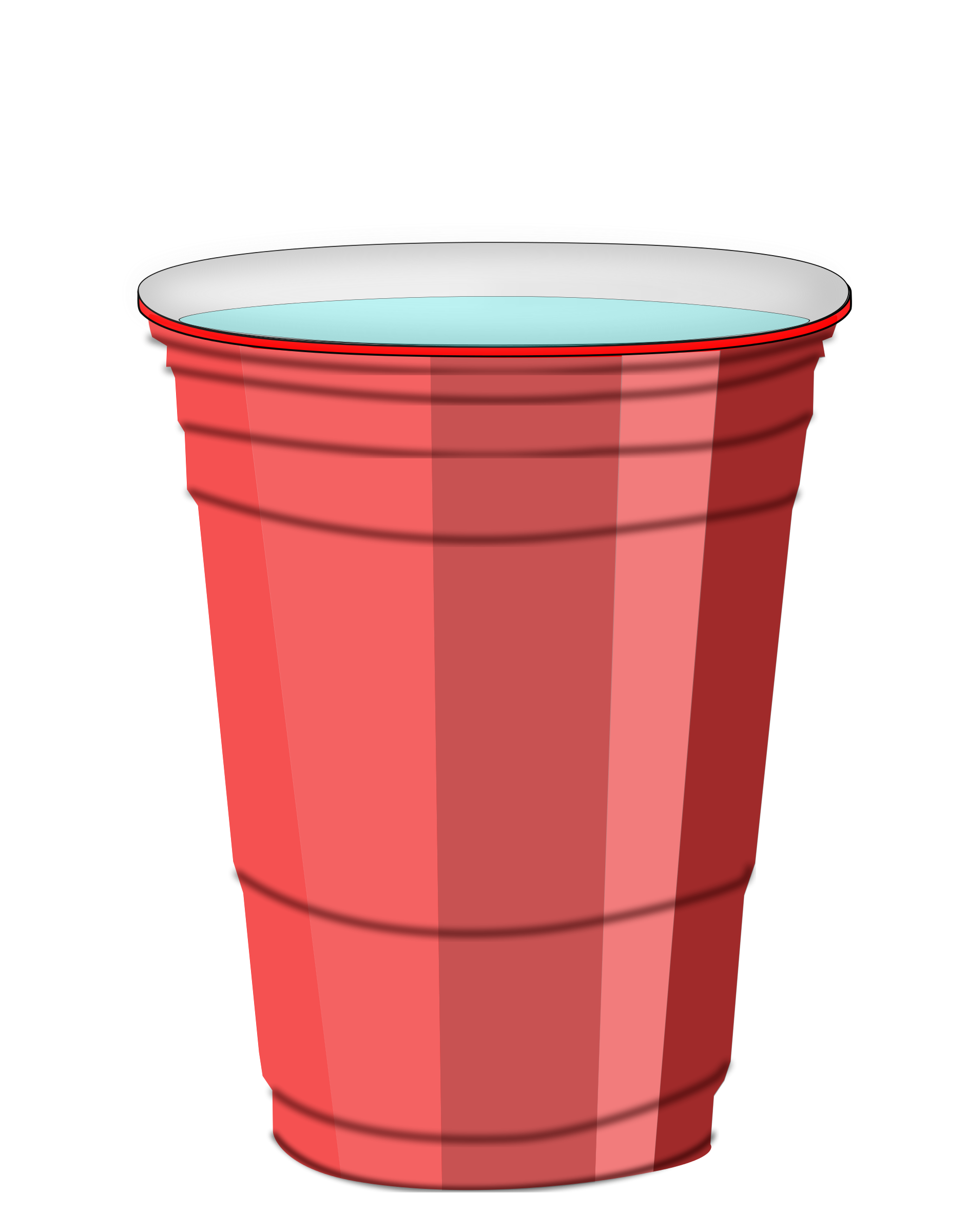 Cup clipart cuo. Water panda free images