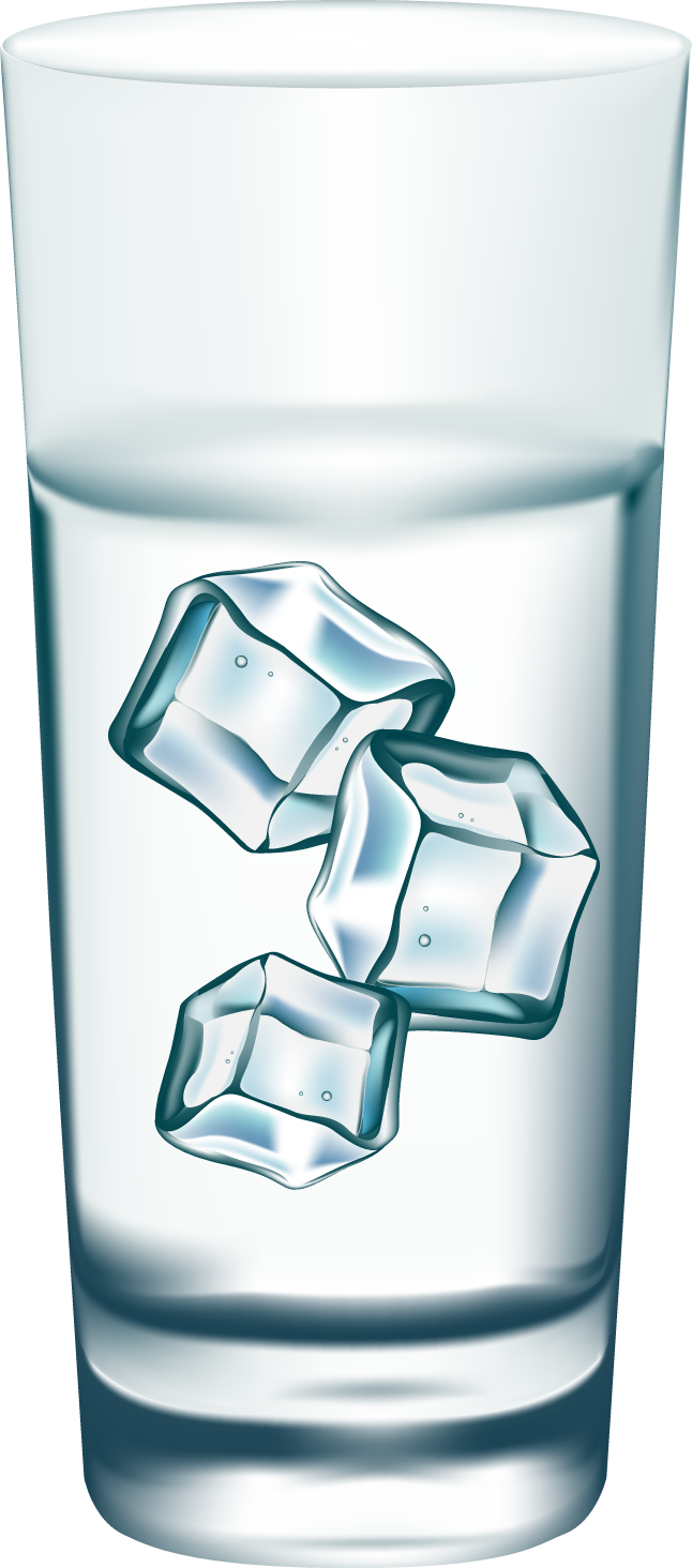 Ice . Water clipart simple