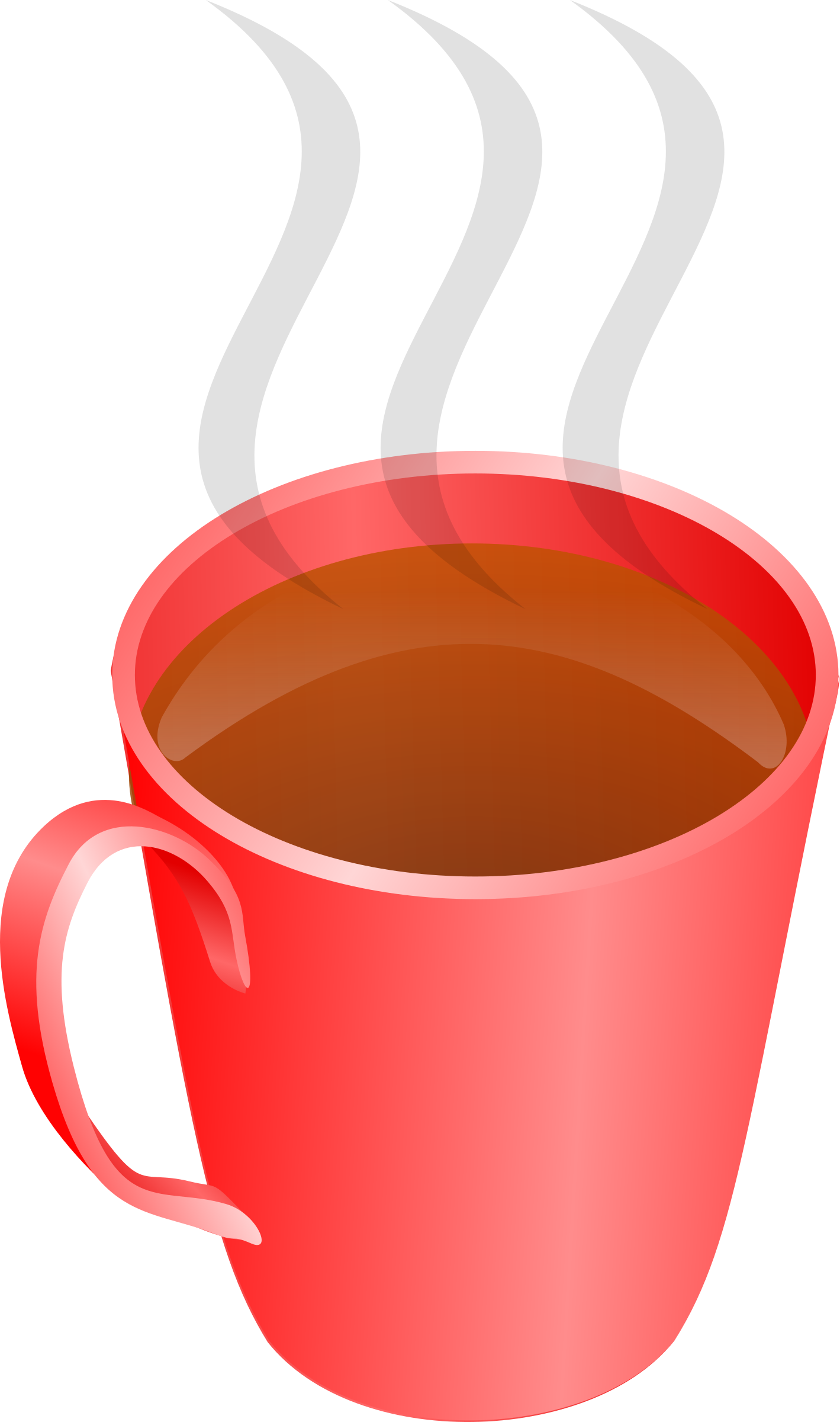 A of tea big. Cup clipart pyramid