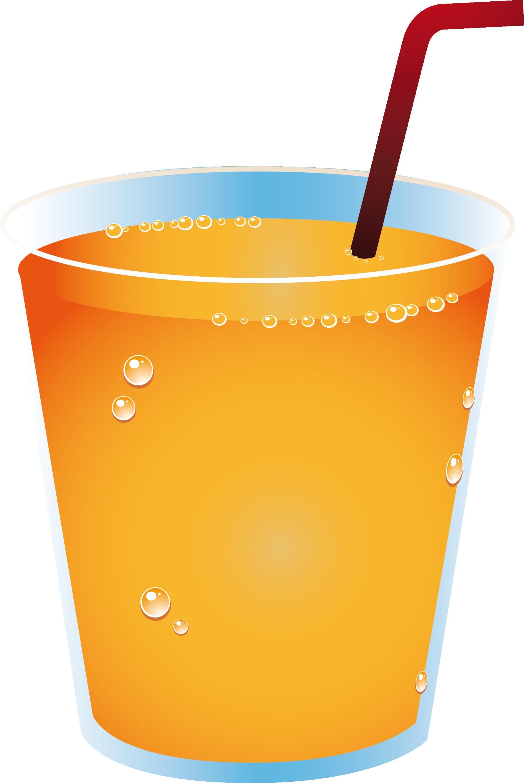 Cup clipart drinks. Orange juice drink soft