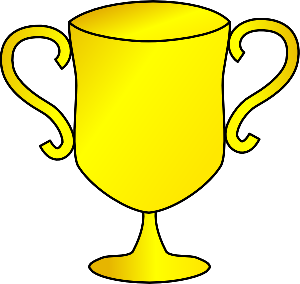 Trophy Plain Clip Art at Clker
