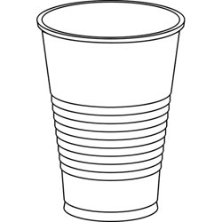 Cup clipart plastic cup.  clipartlook