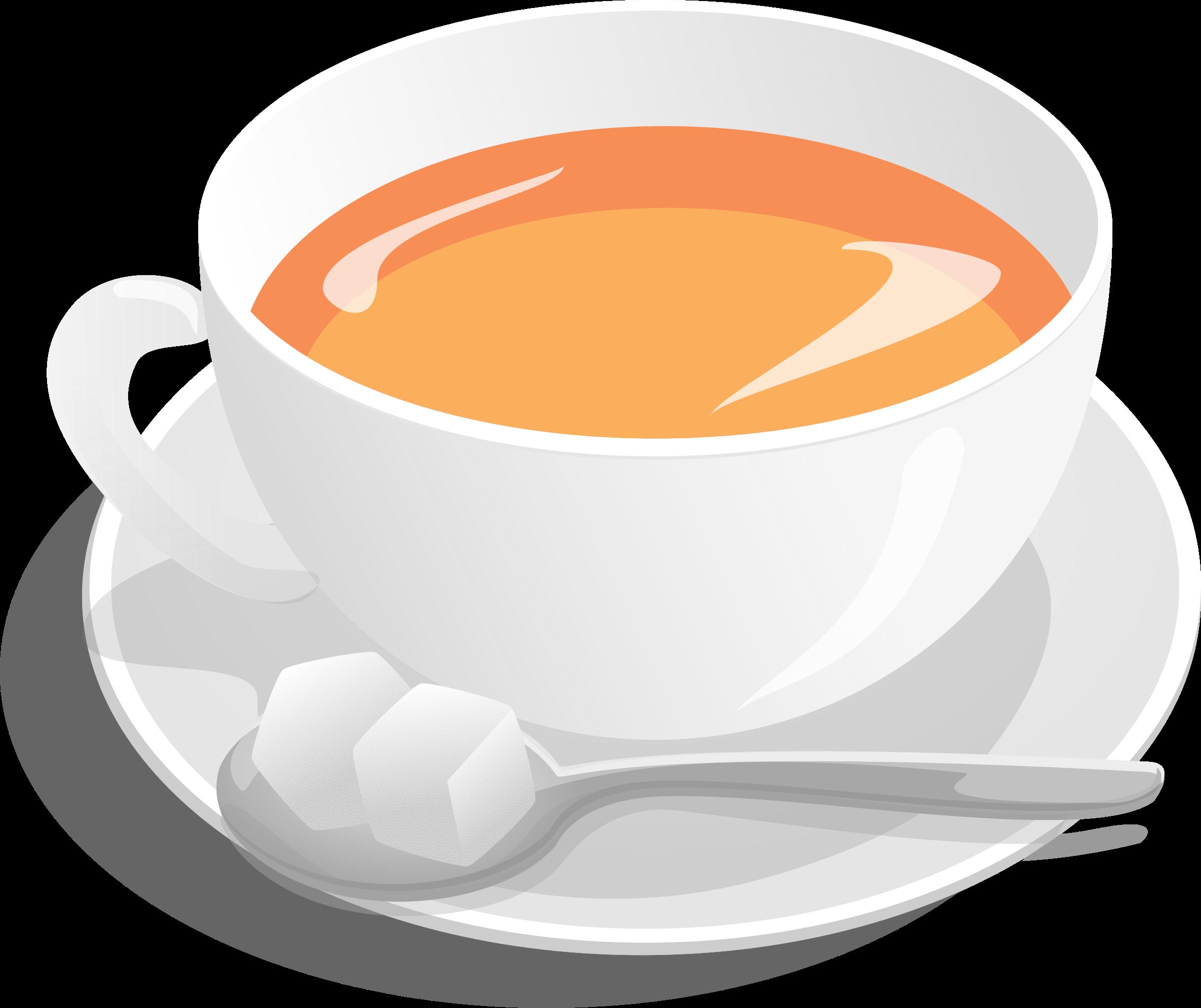 Teacup big image png. Clipart milk tea glass