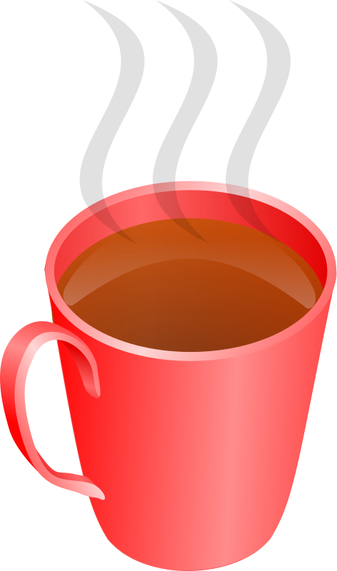 Drinks clipart cup hot tea. A of medium image