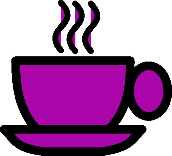 Cup clipart purple cup. Tea clip art at