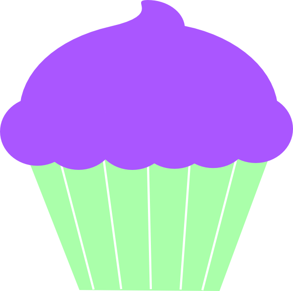 Cupcake clip art at. Cup clipart purple cup