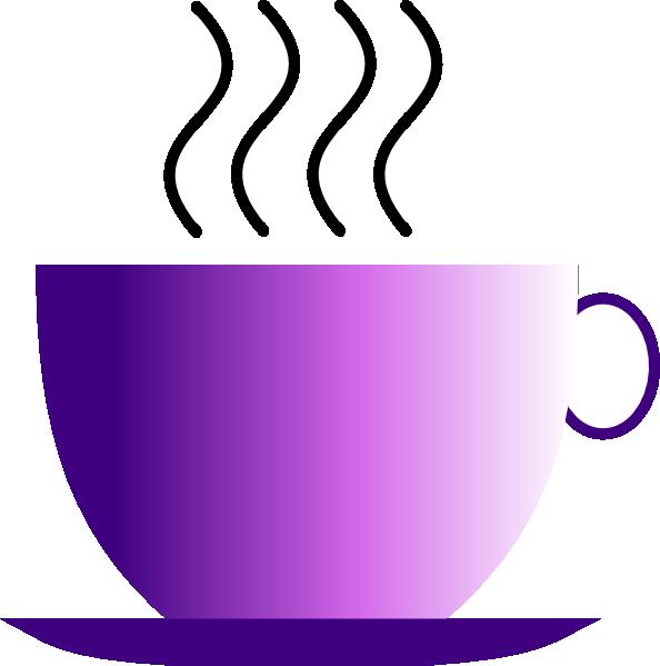 Cup clipart purple cup. Hot beverage clip art