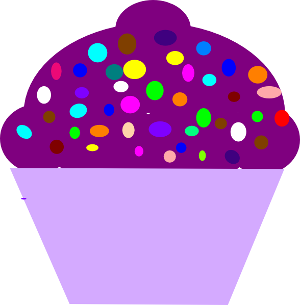 icecream clipart purple