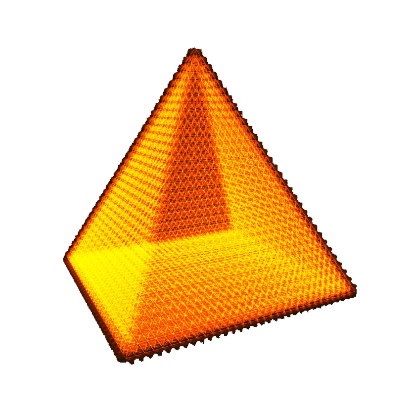 Egypt clipart triangle pyramid. Orange clip art golden