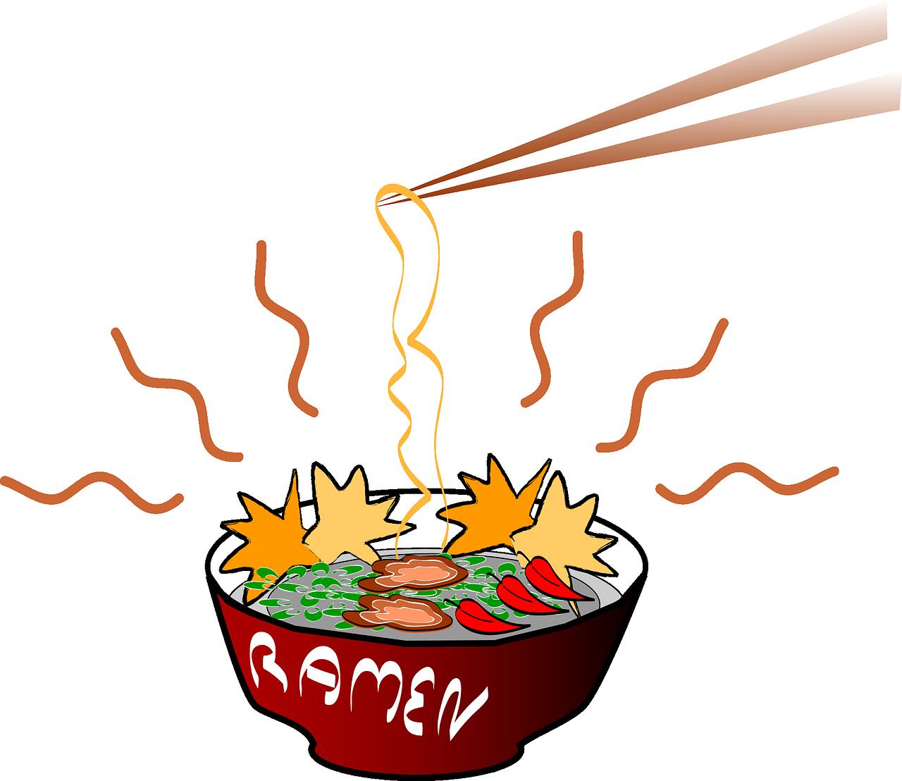 Clipart cup ramen. Japanese cuisine instant noodle